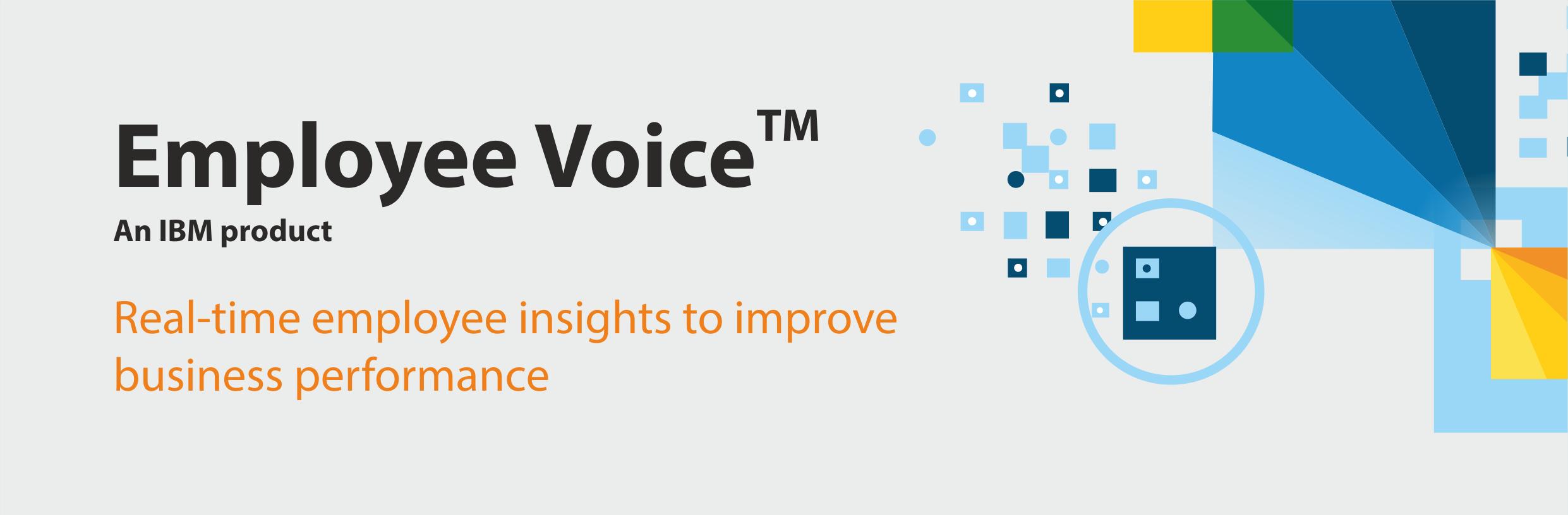 IBM employee voice
