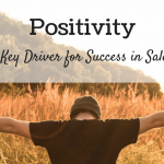 positivity key driver for sales success