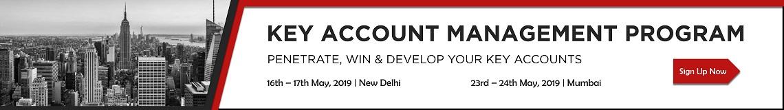 Key Account Management Banner